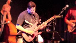 LUIS GOMEZ  GUITAR WITH LEO QUINTERO AND THE FLORIDA BLUES FACTORY