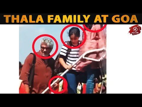 Thala Family at Goa I Thala Ajith I Anoushka I Shalini