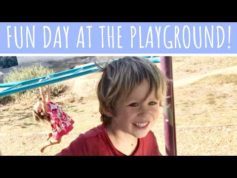 JoJo, Isaac, and GG's FUN DAY at the Playground!
