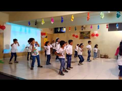 Prices Bhakti Stage Group Dance at School Progr