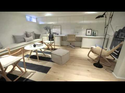 Interior Design — Modern Scandinavian-Inspired Bright Basement Renovation