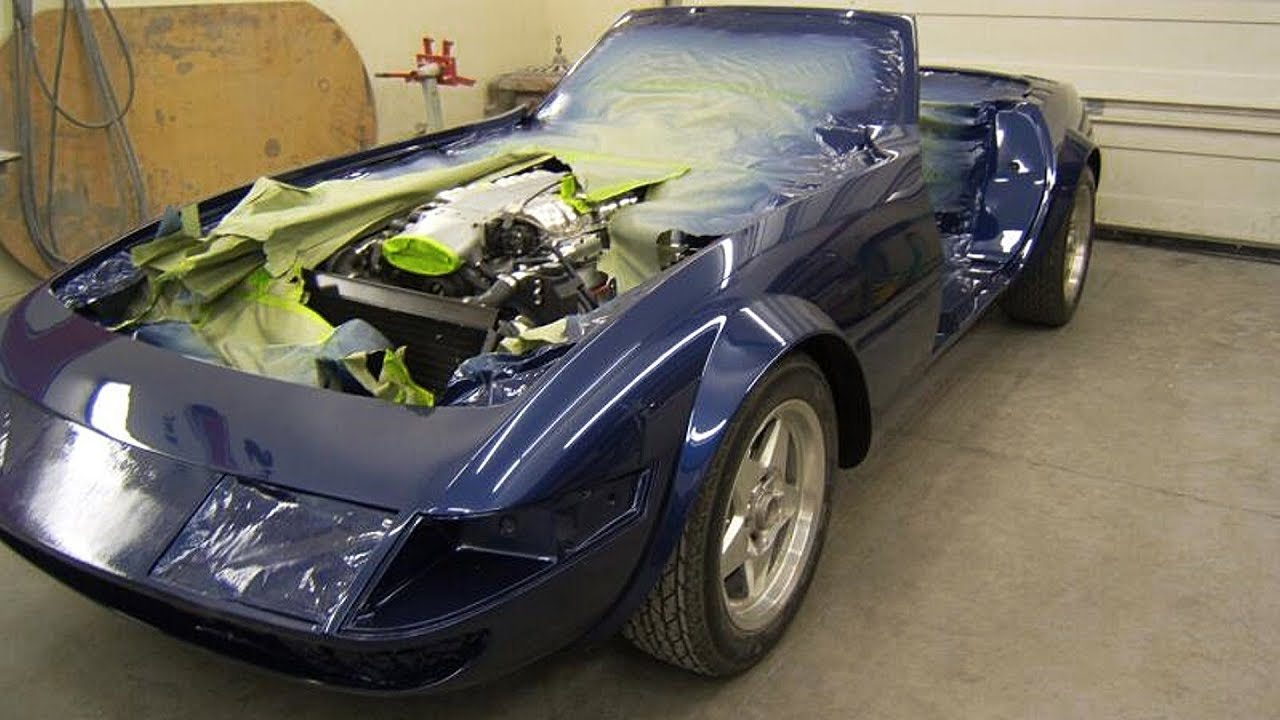 Ferrari Daytona (ZR1 Corvette) Kit Car Build Project