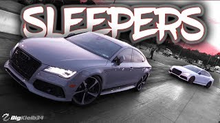 This Audi RS7 Duo Shocked Everyone at the Track w/ BASIC Mods