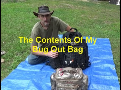 Reworking Contents Of My BOB Bug Out Bag