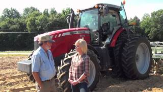 Massey Ferguson Across America -- 8670 -Sweet Potatoes in North Carolina