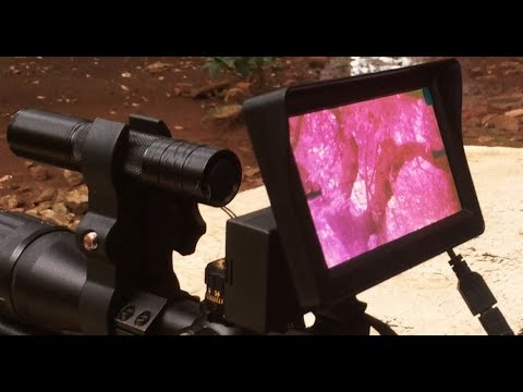 Night Vision Hunting Scope - Teleskop Infrared Berburu