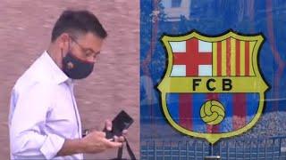 В Барселоне творится какая то жесть Вот что случилось ВОЗЛЕ ОФИСА когда Бартомеу шел Месси уйдет