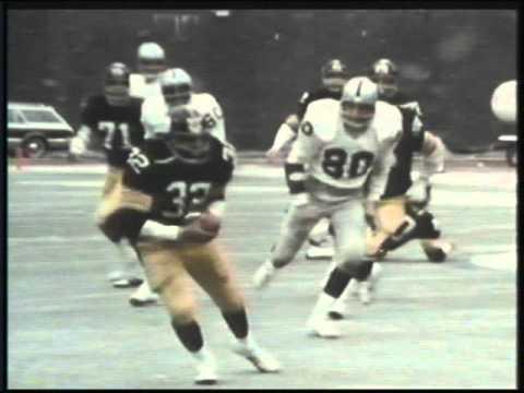 1975 NFL Game Of The Week • Raiders vs Steelers
