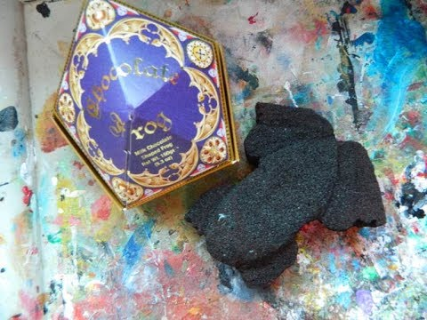 Chocolate Frog Squishy : Harry Potter squishy tutorial series: Chocolate frog - YouTube