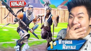 I BOUGHT THE SKINS OF THE NINJAS * EPIC * AND ARE AMAZING!! | FORTNITE