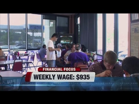 Weekly wage goes up in Nevada