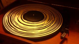 Deep Cleaning Record With Wood Glue