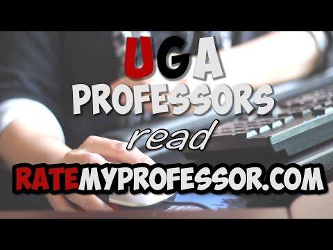 UGA Professors react to Rate My Professor