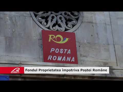 Fondul Proprietatea împotriva Poştei Române