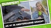 Wapens opvissen in Amsterdamse gracht