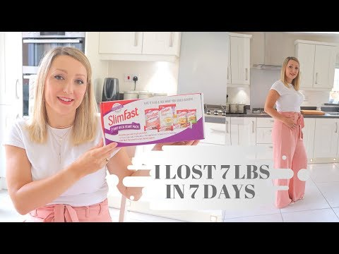 Slimfast Diet Loss | 7 Day Challenge | Slimfast Success & Tips | Slimfast Tesco UK | Slimming World
