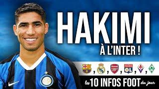 🇮🇹 Hakimi à l'Inter, Pjanic-Arthur, Robben revient ! Les 10 infos foot du jour