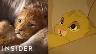 A Breakdown Of The New 'The Lion King' Teaser Compared To The Original
