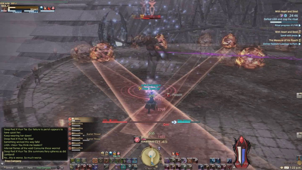 FFXIV Red Mage Quest #12: With Heart and Steel
