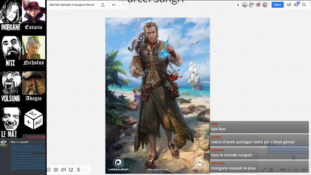 2d6+Hot Episode 0 Dungeon World – 2d6 plus Cool