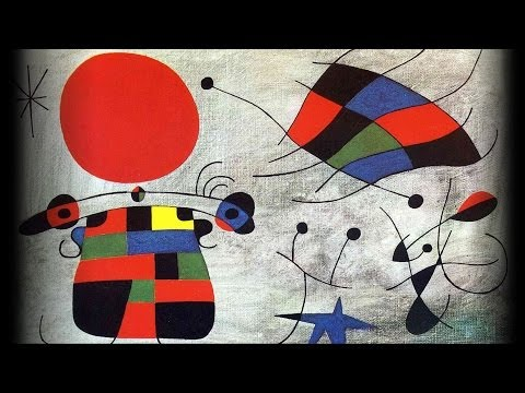 Late works by Miro play with metamorphosis of found objects