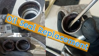 Pagpapalit ng fork oil seal / How to change fork oil seals / Pag papalit ng Fork Oil