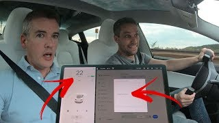 Can You Drive a Tesla While Doing a Software Update?