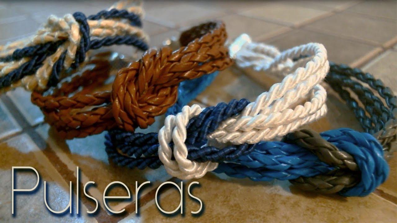 Pulseras con nudo marinero sailor knot bracelets youtube - Nudos marineros para pulseras ...