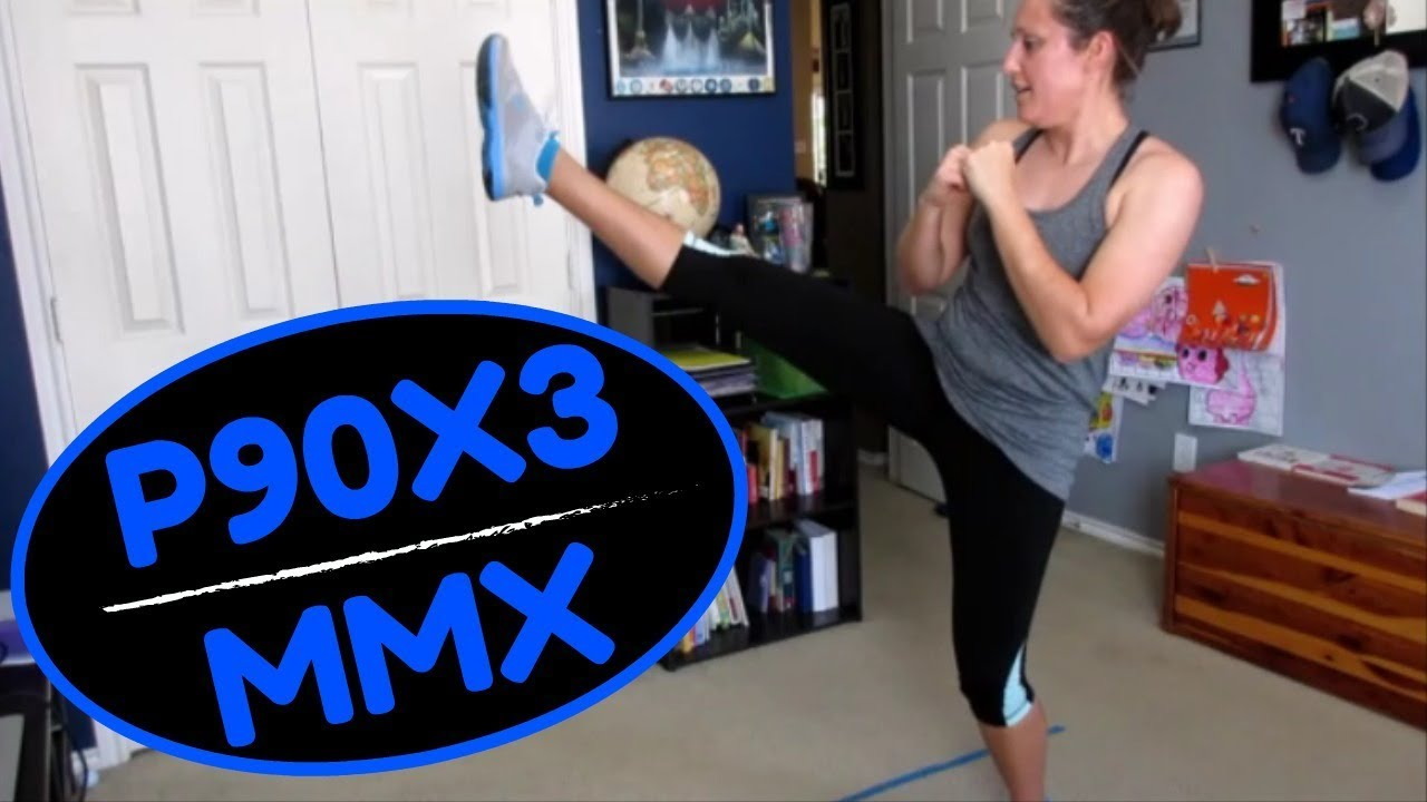 WORKOUT WITH ME! P90X3 | MMX