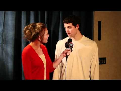 Jimmer Interviewed by CBS Lesley Visser