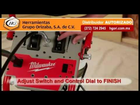 Milwaukee pistola de pintar sin compresor de aire youtube - Pistola de pintura sin compresor ...