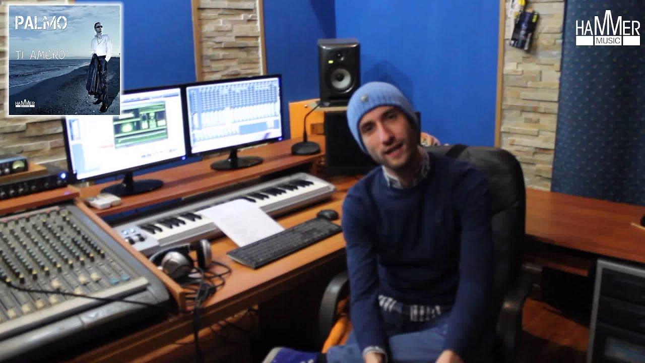 Palmo in studio di registrazione youtube - Studio di registrazione casalingo ...