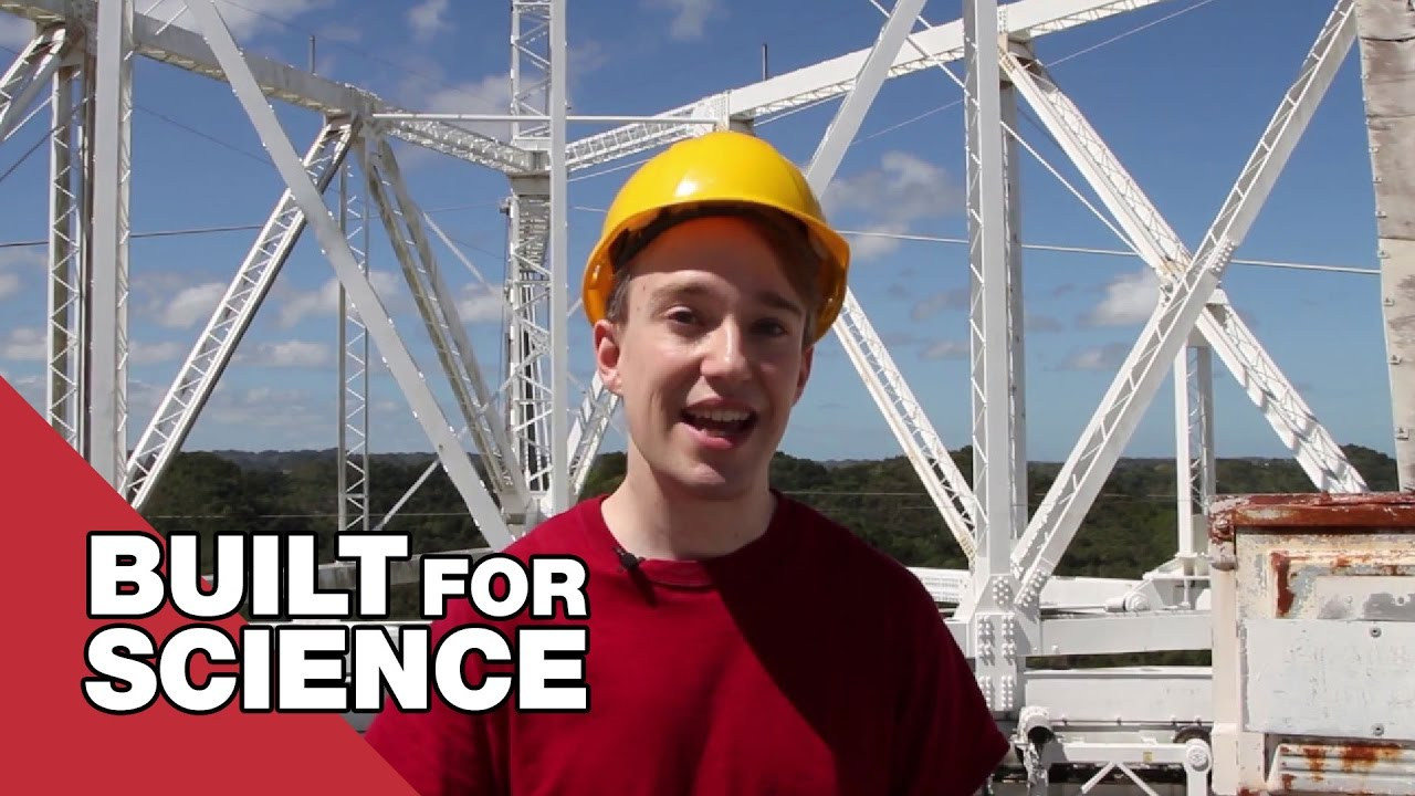 Youtube Thumbnail Image: How The Arecibo Telescope Could Help Save The World