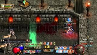 【Dark Blood】 ネクロマンサーの城 破壊の殿堂だお! ダークブラッド