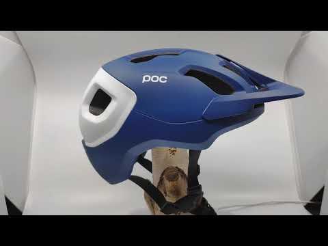 POC - Axion SPIN - Farbe: Lead Blue Matt - 360° - Powered By Helmheld.de