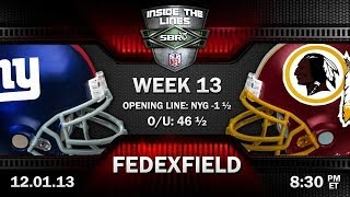 New York Giants vs Washington Redskins NFL Week 13 Preview | 2013 NFL Picks w/ Troy West, Loshak