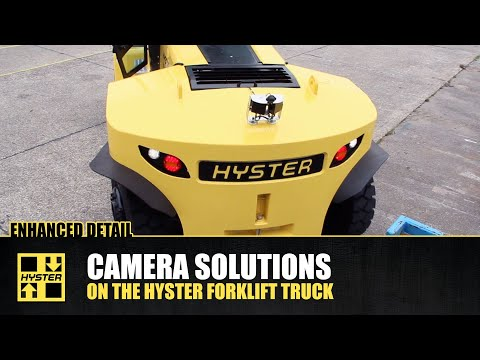 Superb Vision When Handling Loads - Orlaco Cameras - Hyster® Special Truck Engineering