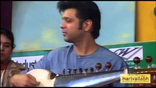 Ustad Amaan Ali & Ayaan Ali Bangash -- Sarod -- Part 3- The 136th Harivallabh 2011