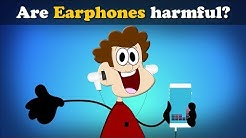 Are Earphones harmful? | #aumsum #kids #science