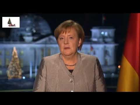 Merkel Neujahransprache 2019 Auf Russisch/ Новогоднее обращение Меркель 2019