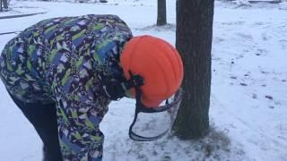 обучающие видео по направленной валке дерева