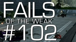 Fails of the Weak: Ep. 102 - Funny Halo 4 Bloopers and Screw Ups! | Rooster Teeth