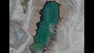 Underwater Ruins At Lake Titicaca In Bolivia