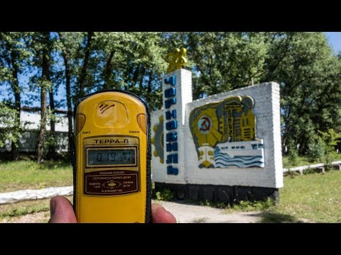 Motorcycle Trip to Mongolia, Part 3, Chernobyl Nuclear Power Plant - episode 1