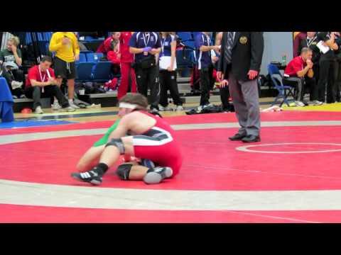 CIS Championships 2012: 68 kg John Cottrill vs. Curtis Luu