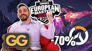 GG - Počeo EU Masters, otkazan Friday Fortnite, Overwatch na popustu