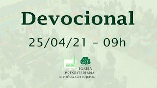 Devocional EBD - 25/04/2021