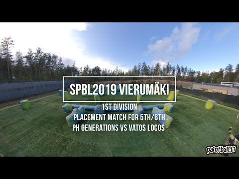 PH Generations vs Vatos Locos - SPBL2019 Vierumäki