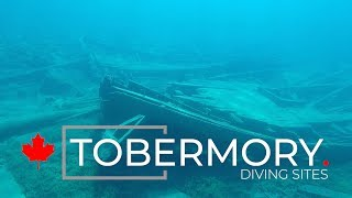 Tobermory diving sites, Ontario