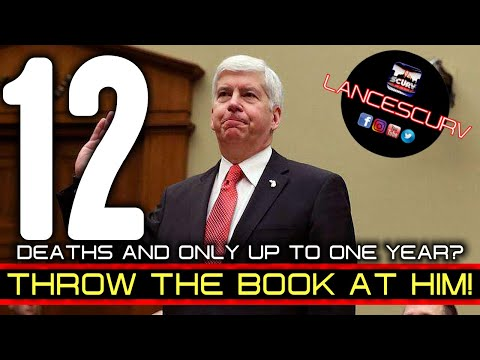 GOVERNOR RICK SNYDER: THROW THE BOOK AT HIM! - THE LANCESCURV SHOW